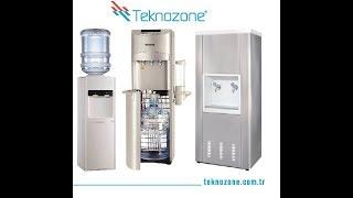 Su sebili temizliğinde ozon gazı kullanımı