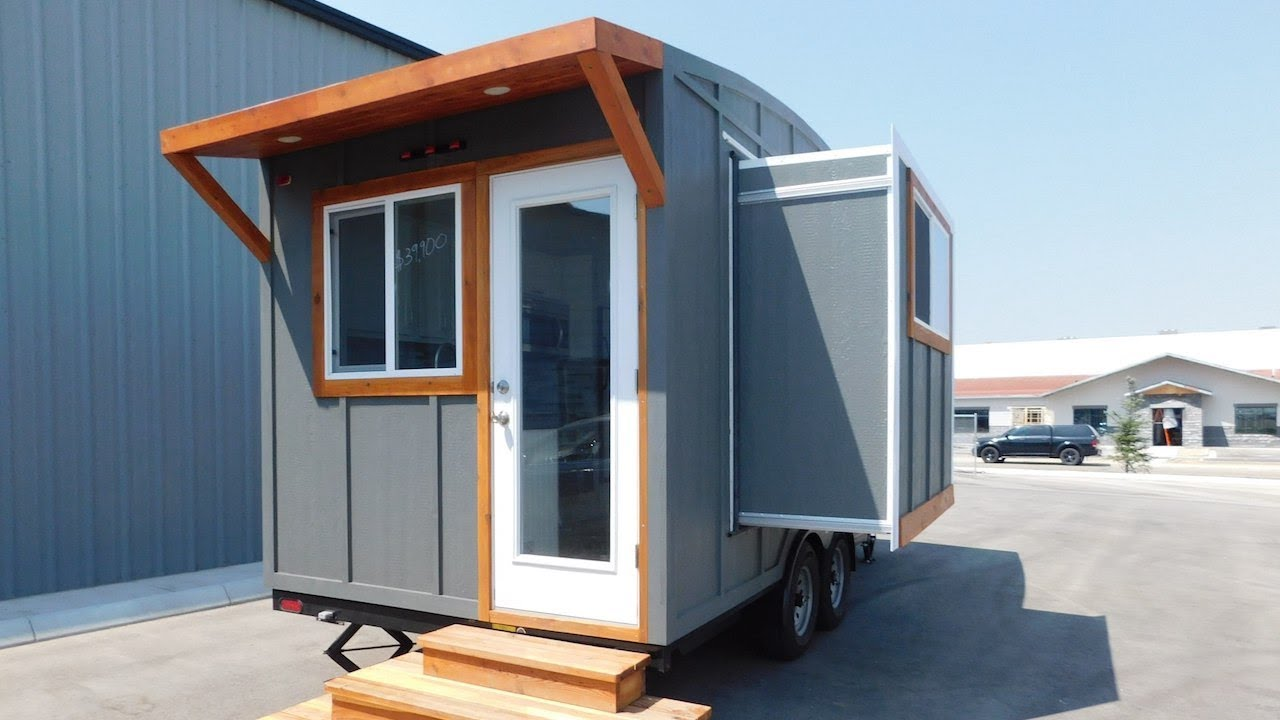 Tiny House With Slide Out Sleep Downstairs Youtube,Boys 2 Kids Bedroom Ideas For Small Rooms
