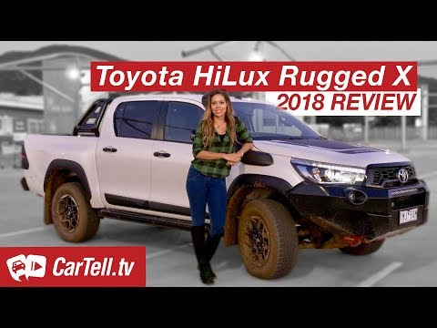 2018 Toyota HiLux Rugged X review | CarTell.tv
