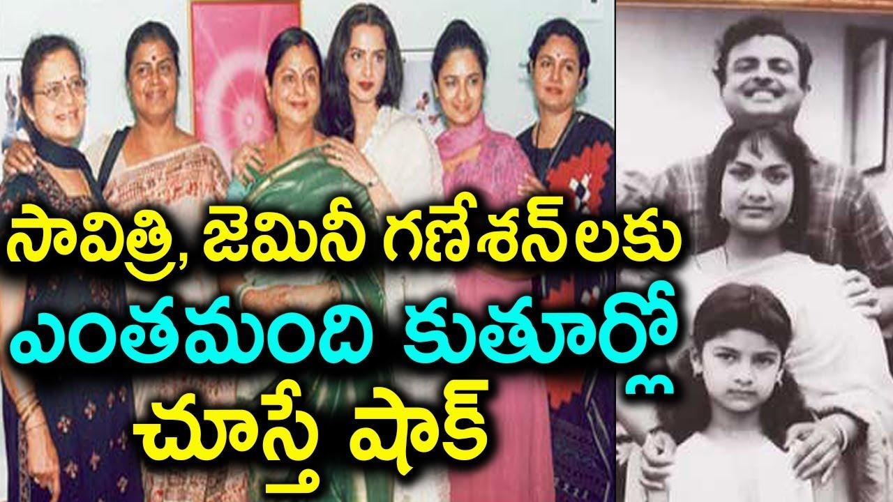 Gemini Ganesan Daughter Against Mahanati: Gemini Ganesan Wives And Daughters