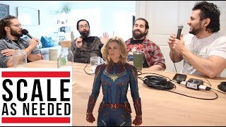 What is Captain Marvel s Superpower Anyway? Scale As Needed 129 Clip