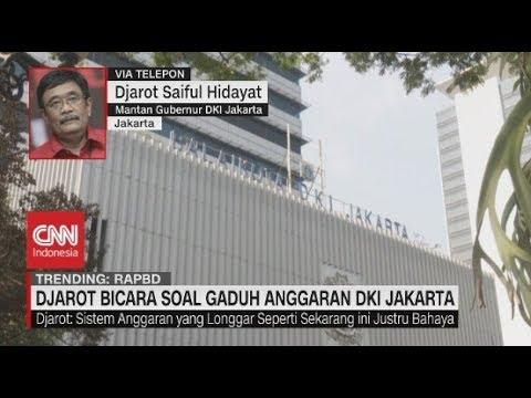 Djarot Bicara Soal Gaduh Anggaran DKI Jakarta