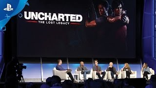 Uncharted: The Lost Legacy - PlayStation Experience 2016: Panel Discussion | PS4