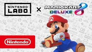 Mario Kart 8 Deluxe – Désormais compatible avec Nintendo Labo ! thumbnail