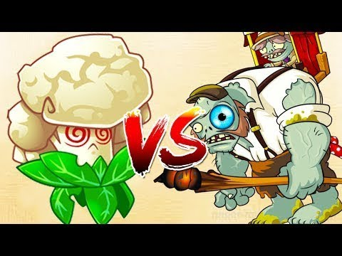 Plants vs Zombies 2 Mod - Cauliflower Power Up Vs Gargantuar BOOSTED  Zombies Epic Quest Gameplay