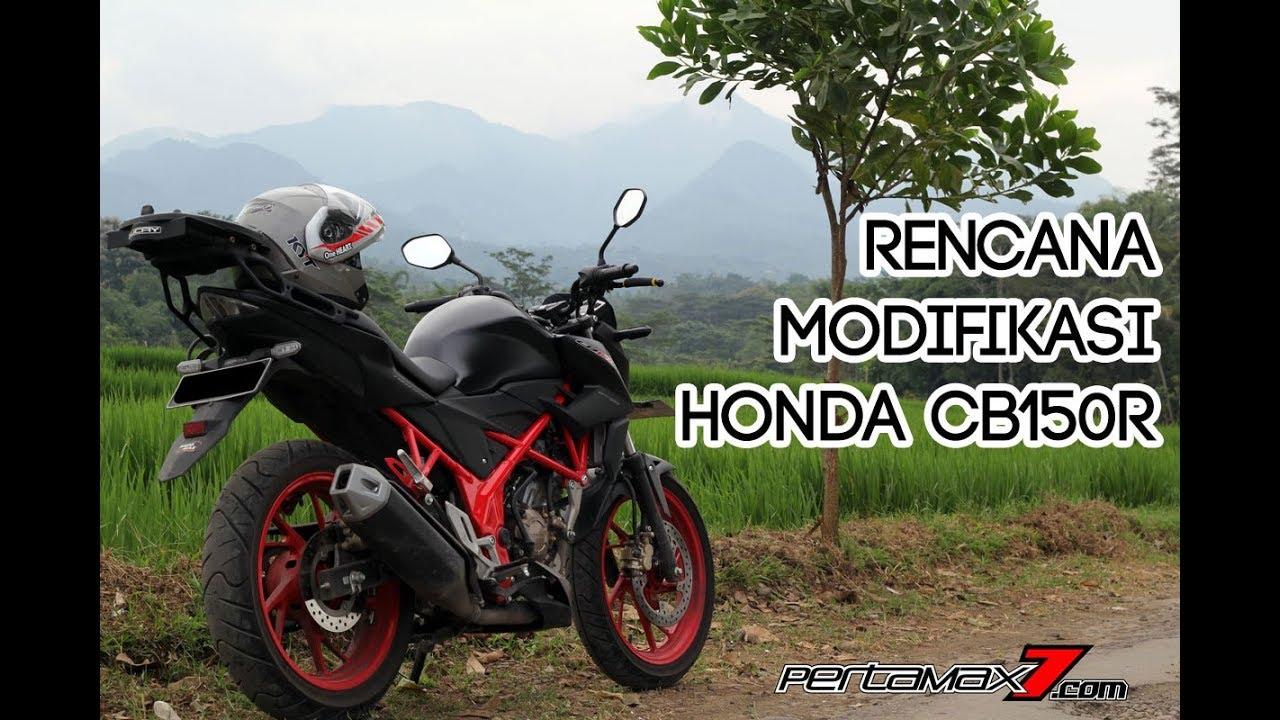Rencana Modifikasi Honda CB150R Streetfire Special Edition Footage