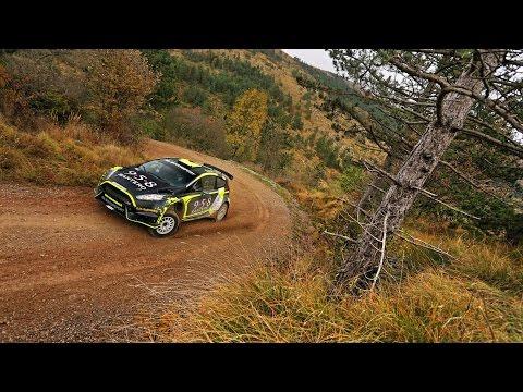 Rok Turk test Ford Fiesta R5 - RB Motorsport