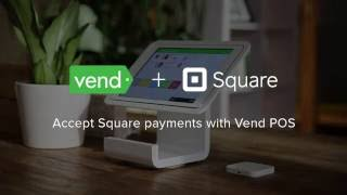 Now available in the us - a new way for advanced and multi-location retailers to accept payments with square, using vend, pos designed who ...