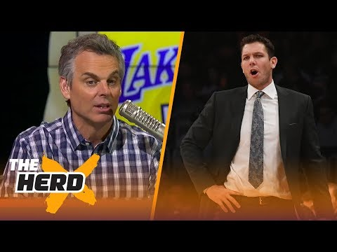 Colin Cowherd thinks we can stop blaming LaVar Ball for Luke Walton's failures   THE HERD
