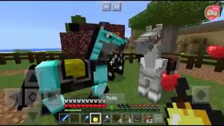 Minecraft streamvival day 47 part 2// moving the horses and breeding