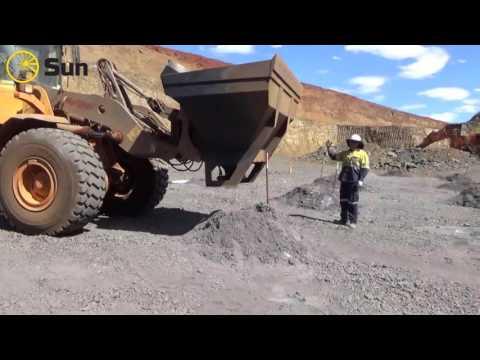 Magnetite Iron Ore blasting, FMG Iron ore mine Pilbara, WA