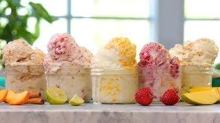 5 NEW Fruity Ice Cream Recipes