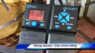 Đập hộp và hướng dẫn sử dụng (pedal guitar) Zoom G1Xon