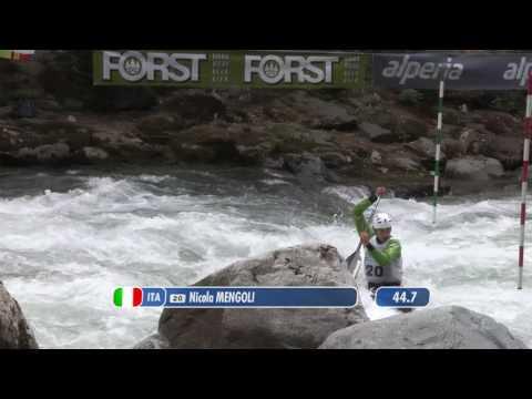 62th International Canoe Slalom Merano - Finals