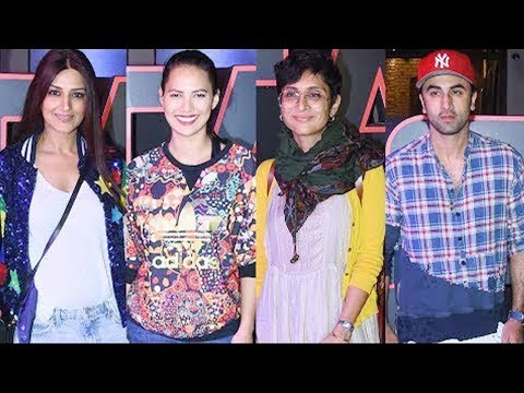 Star Wars The Last Jedi Movie Red Carpet Special Screening   Ranbir Kapoor, Kiran Rao
