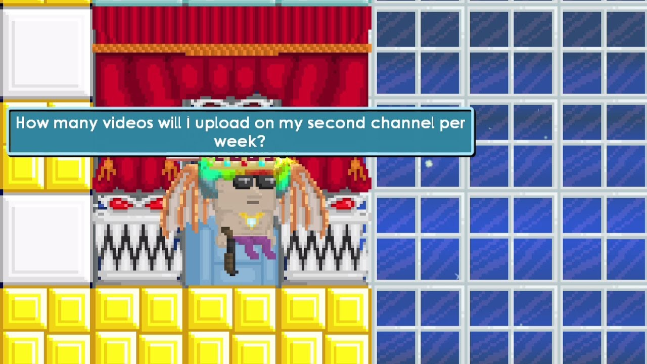 Info about my new channel | Growtopia