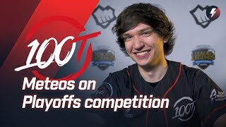 Meteos on ending 100T's lose streak, Sneaky's cosplay, and what could be hurting C9