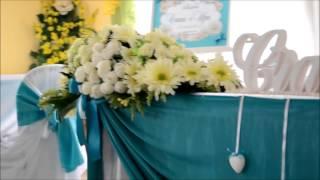 Оформление банкетного зала на свадьбу в Кривом Роге
