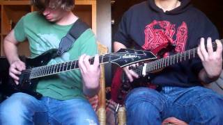 Gojira - Love (dual guitar cover)