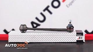 Wie MERCEDES-BENZ E W210 Querlenker hinten wechseln TUTORIAL | AUTODOC