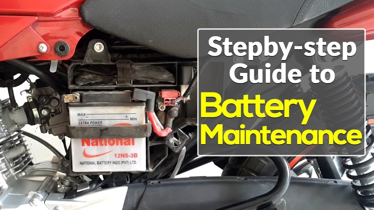 How To Maintain Motorcycle Battery