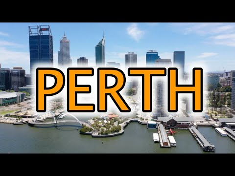 Perth Australia Travel Tour 2020 4K