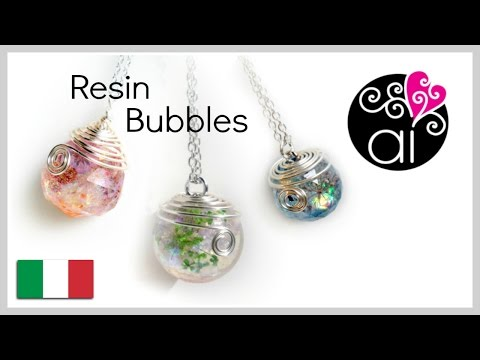 Tutorial Sfere Resina | DIY Resin Bubbles | How to cast resin sphere