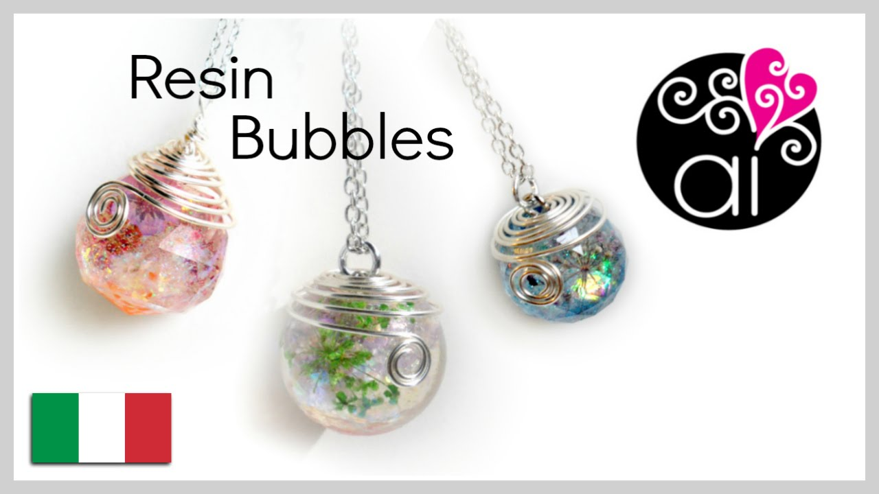 Tutorial Sfere Resina Diy Resin Bubbles How To Cast
