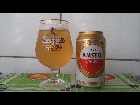Hora da cebadiz - Degustação - Amstel Lager #1