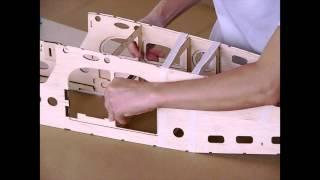 The World Models Pilatus Pc-6 Porter 40 - Kit (balsa Kit Building)