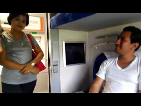 Viajando en el tren bala de Beijing hasta Shanghai