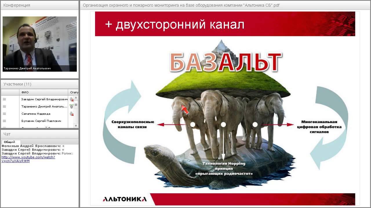 """Вебинар по продукции """"Альтоника СБ"""" 09.12.2014 (ч. 3)"""