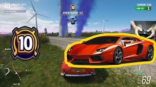 Forza Horizon 4 The Eliminator  - Car Drop Level 10 - Lamborghini Aventador