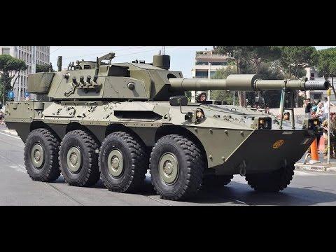 Blindados Centauro MGS 120mm y Freccia (Italia)