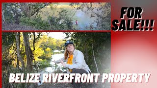 Belize Property for Sale - 38 acres Riverfront for 150,000 USD-