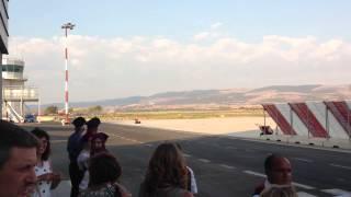 Aeroporto di Comiso (RG)  Primo Volo di linea Ryanair Comiso (CIY) - Roma Ciampino (CIA)