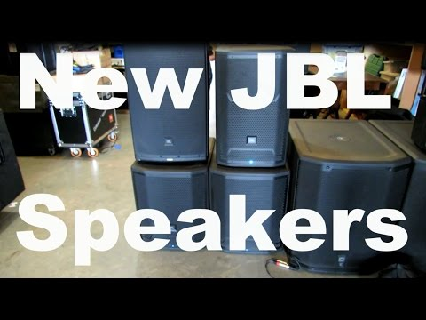 New JBL Speakers