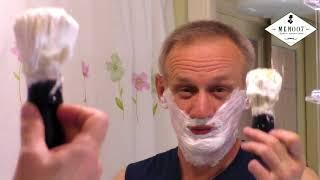 Уроки классического бритья #Как получить хорошую пену