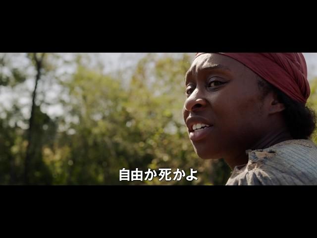 映画『ハリエット』予告編