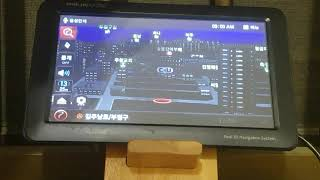 아이나비 KP800 GPS 테스트