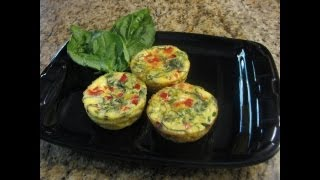 Mini Veggie Quiches -- Lynn's Recipes