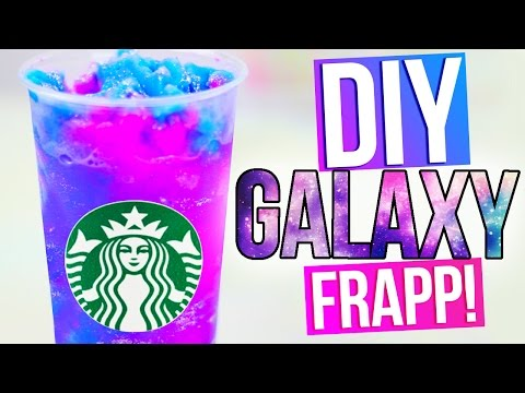 DIY GALAXY STARBUCKS Vanilla Bean Frapp from YouTube · High Definition · Duration:  2 minutes 16 seconds  · 1.788.000+ views · uploaded on 18-5-2015 · uploaded by HelloMaphie