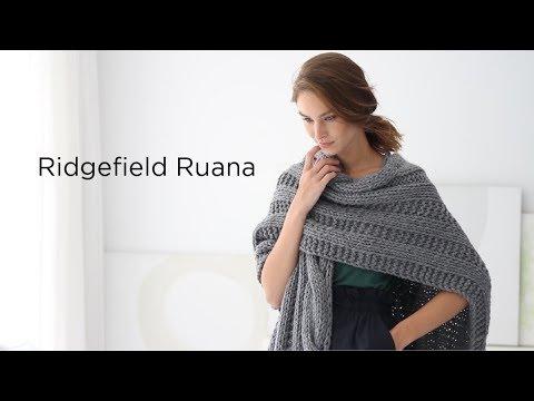 Ridgefield Ruana Knit With Thick Quick Bonus Bundle Youtube