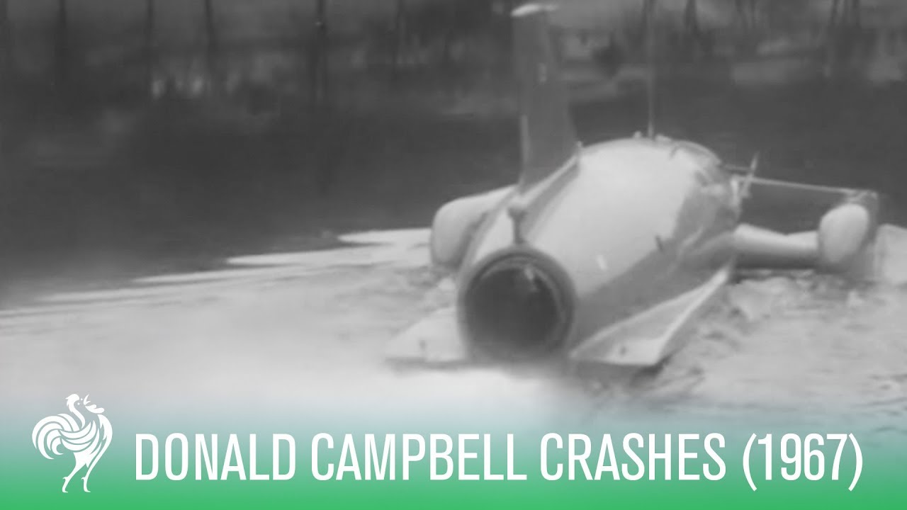 Water Speed Record Crash: Donald Campbell Killed (1967) | Sporting History