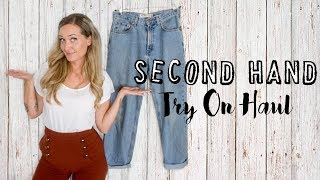 SECOND HAND TRY ON HAUL