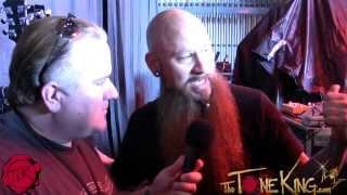 Backstage w/ Godsmack Guitar Tech Artie Love for Sully Erna - Rockstar Uproar Festival 2012