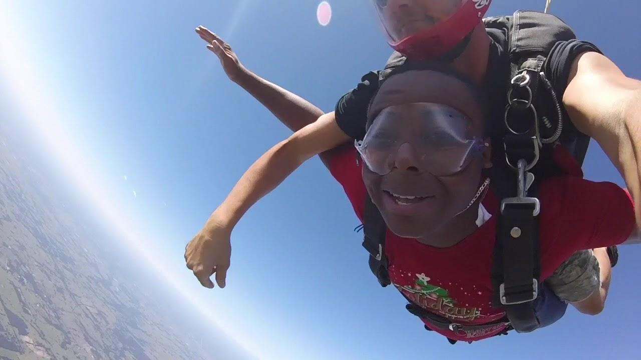 Tandem Skydive | Loveless from Madisonville, TX - YouTube
