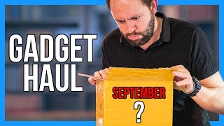 SEPTEMBER Gadget Haul Unboxing!