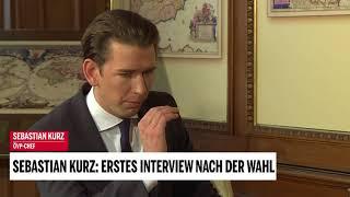 Sebastian Kurz: Erstes Interview nach der Wahl