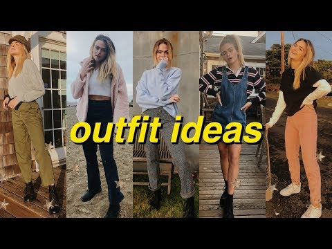 outfit ideas for school // winter lookbook